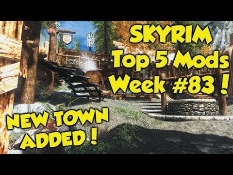 Skyrim Remastered Top 5 Mods of the Week #83 (Xbox One Mods)
