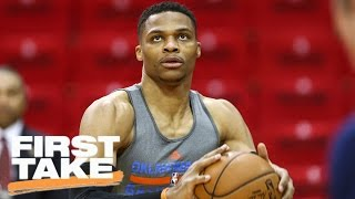 Thunder Need To Surround Russell Westbrook With Shooters | First Take | April 25, 2017 thumbnail