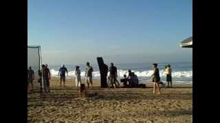 Commercial filmed at Pie de la Cuesta