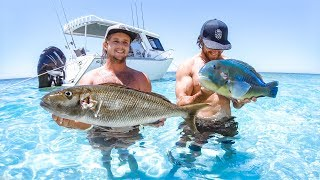 BEST DAY OF MY LIFE! WE GOT A NEW BOAT Catch And Cook Part 2 - YBS Lifestyle Ep 54