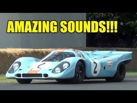 Porsche 917 INVASION - AMAZING SOUND