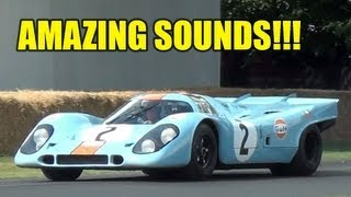 Porsche 917 INVASION - AMAZING SOUND