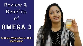 Review & Benefits of Omega 3 Supplement by Oriflame