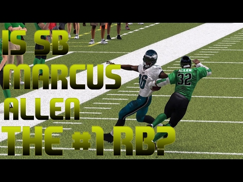 Super Bowl Past Marcus Allen Review | Madden 17 Player Review