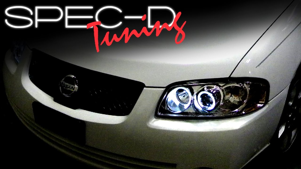 Specdtuning Installation Video 2004 2006 Nissan Sentra