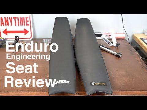 Enduro Engineering Soft Dirt Bike Seat Review