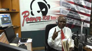 PNM GLADIATOR ASKED ROWLEY IF HE HAD SEX WITH A ''MINOR'' LIVE ON POWER 102FM JULY 8/07/15