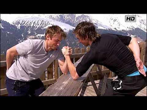 Petter Northug - Exclusive: Petter Northug vs Thomas Northug Arm Wrestling