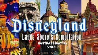 Disneyland Lands Secrets Compilation