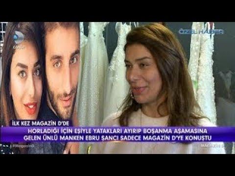 Ebru Şancı eşiyle yataklarını neden ayırdı / Magazin D / 7 Mart 2018