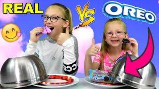Video REAL FOOD vs OREOS CHALLENGE!!! download MP3, 3GP, MP4, WEBM, AVI, FLV Mei 2018