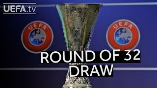 2018/19 UEFA Europa League round of 32 draw