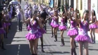 Colegio Salarrué en el Desfile de Nahuizalco, Sonsonate. Con All Star Band