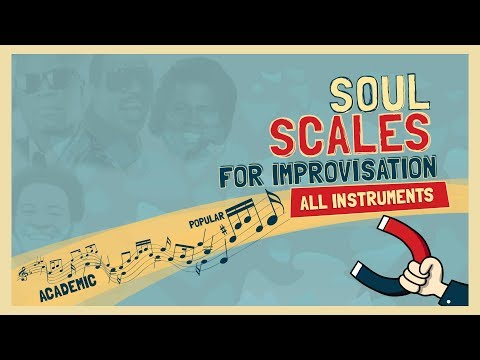 Soul Scales (major Blues scale)  for Improvisation - All instruments - part 1