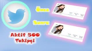 Twitter #Takipçi Kasmak | Oto Dm | Anasayfa Fav & Retweet | 1 Saate 400 Takipçi | 2019