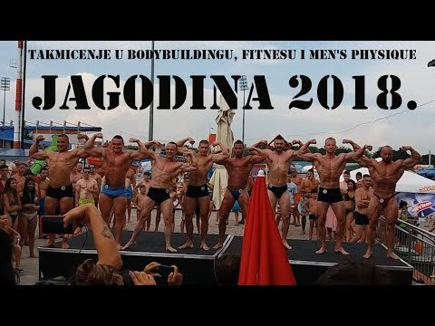 Takmičenje u bodybuildingu, fitnesu i men's physique - Jagodina 2018.