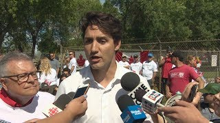 Trudeau on groping allegation: