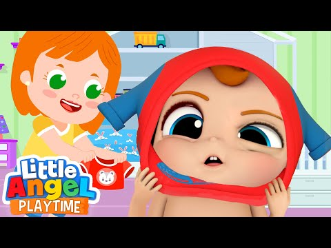 I Want To Get Dressed By Myself + More Little Angel Kids Songs And Nursery Rhymes