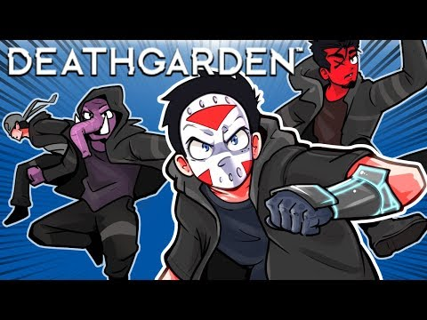 DeathGarden - I'M A PARKOUR NINJA! (First Time Playing) 5v1!