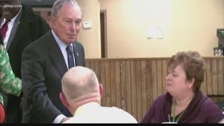 Democratic Candidate Michael Bloomberg To Make Tampa Campaign Stop
