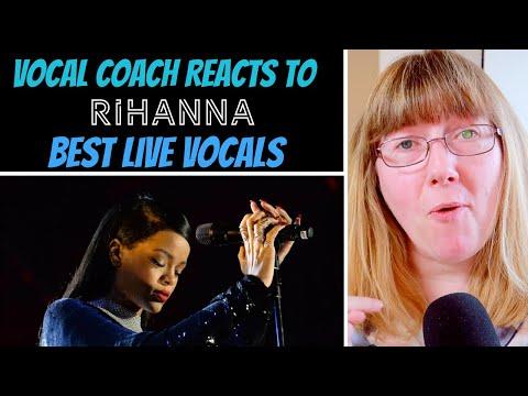 Vocal Coach Reacts to Rihanna Best  Vocals