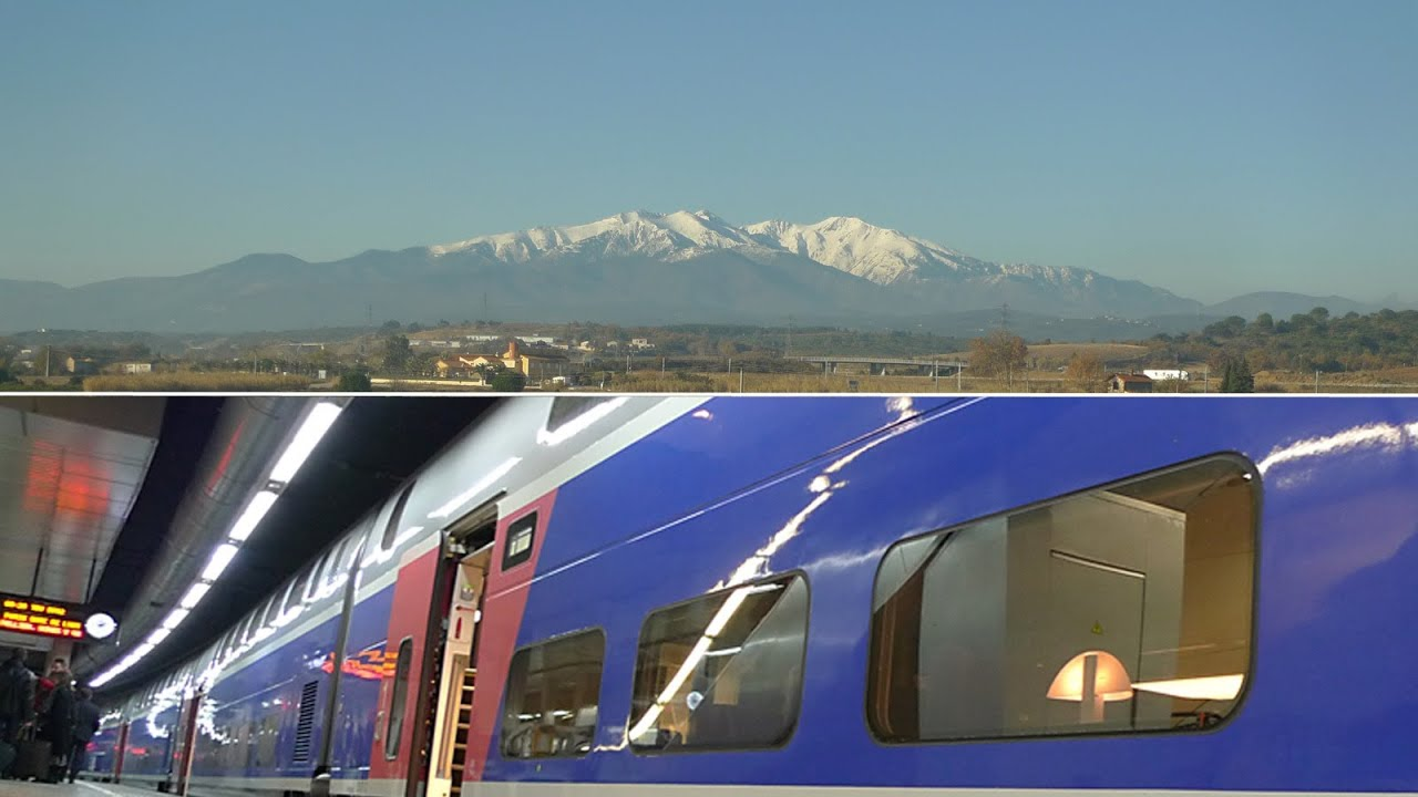 a5b0abb5ceb Barcelona to Paris by TGV high-speed train from €59 - YouTube