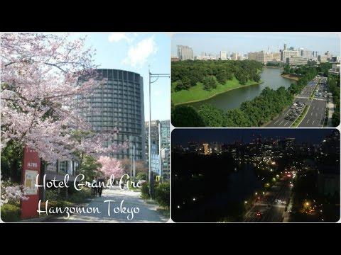 HOTEL ROOM TOUR -  GRAND ARC HANZOMON TOKYO