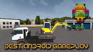 Construction Simulator 2014 - Excavator Transport Tip