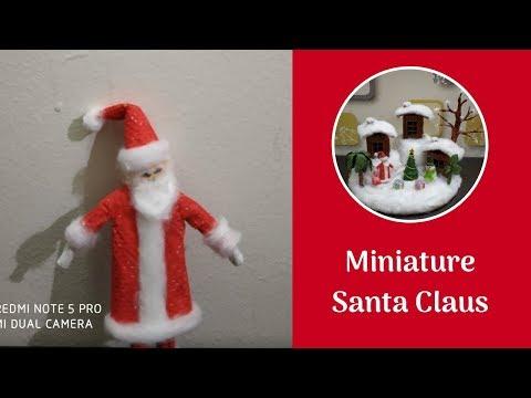 How to Make Handmade Santa Claus at Home | DIY Santa Claus Making with Paper | Easy Christmas Craft