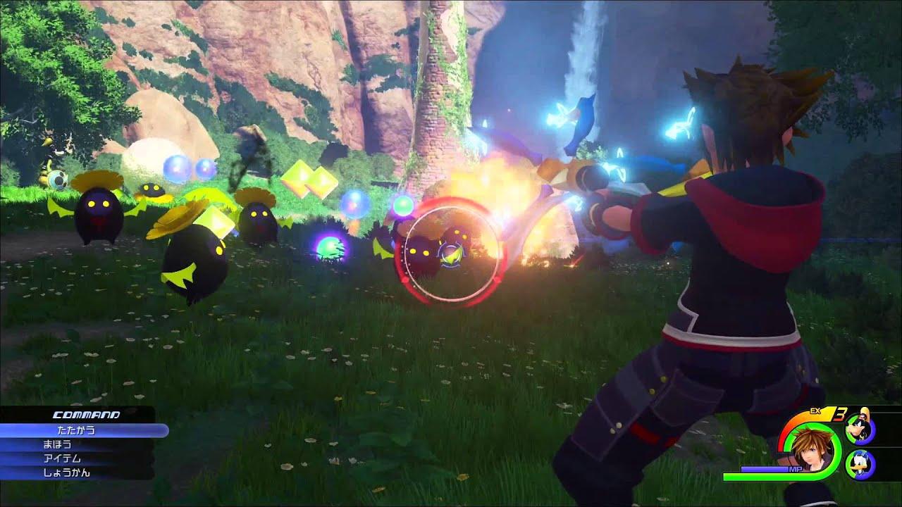 KINGDOM HEARTS III - Tráiler del E3 2015