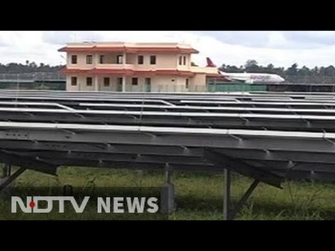 The world's first solar powered airport now in Kerala's Kochi