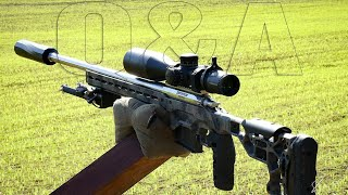 PRECISION RIFLE QUESTIONS ANSWERED (July 2020)
