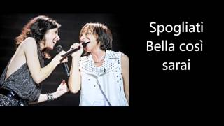 Gianna Nannini & Giorgia - Salvami Testo Lyrics