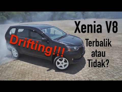 Xenia V8 Drifting Bersama Garasi Drift