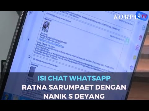 Terkuak! Isi Chat Whatsapp Ratna Sarumpaet dengan Nanik S Deyang di Kasus Hoaks Penganiayaan