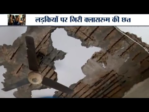 Roof Falls over 5 Students at Daulat Ram College, Student Lodge Protest