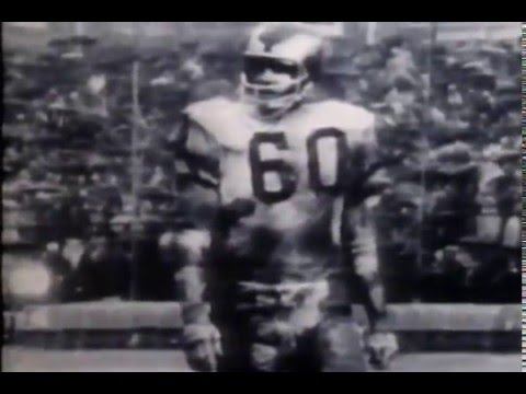 "Chuck Bednarik, Art Donovan ""Golden Age of Football"""