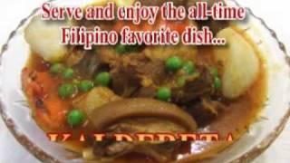Kaldereta - Goat Stew - Juan's Putahes