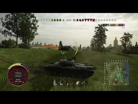 World Of Tanks PS4 ( Ariete Progetto M35 Mod. 46 )