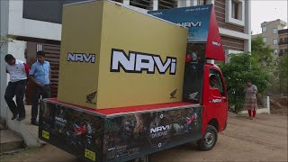 First Honda Navi Delivery In India