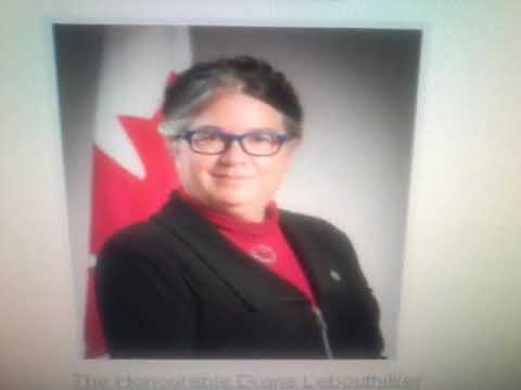 """Meet The """"Honourable Diane Lebouthillier"""" Minister of National Revenue,  Canada"""