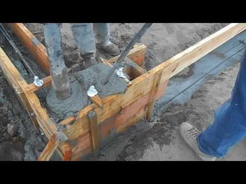 Concrete Stem Wall Foundation Youtube