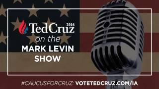 Ted Cruz Challenges Donald Trump to a One on One Debate on the Mark Levin Show
