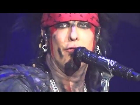 Motley Crue Final Show Nikki Sixx says Goodbye New Years Eve December 31, 2015