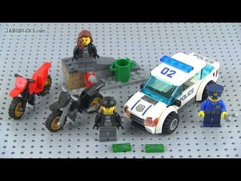 LEGO City 2014 High Speed Police Chase set 60042 Review!