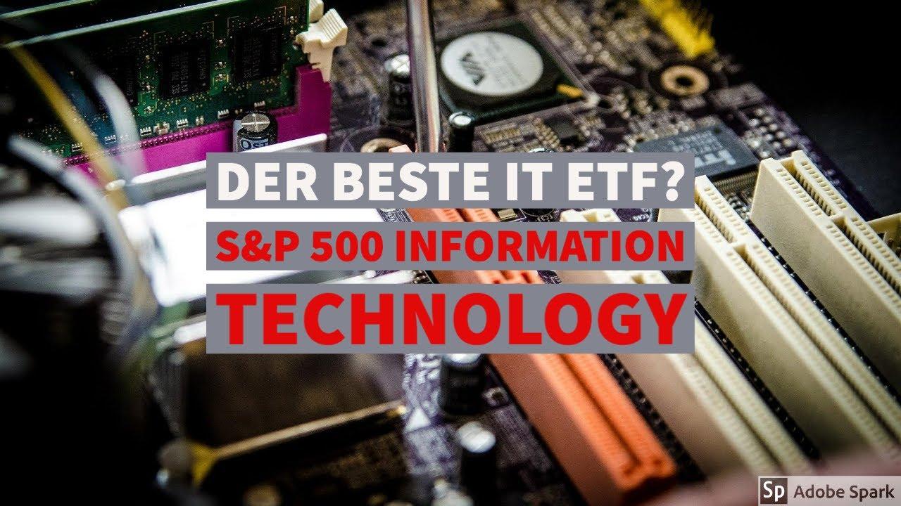 Der Beste IT ETF für dein Depot S&P 20 Information Technology ETF