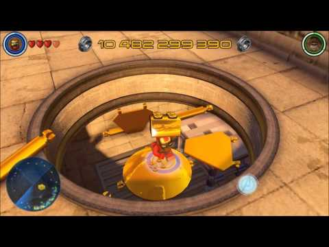 Let's play LEGO Marvel's Avengers - Briques dorées Quartier financier