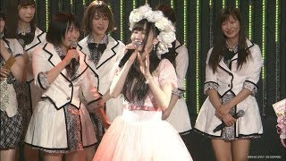 NMB48で次世代エースとして期待された主力メンバー、矢倉楓子(2...