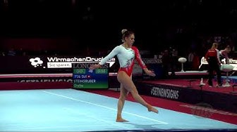 STEINGRUBER Giulia (SUI) - 2019 Artistic Worlds, Stuttgart (GER) - Qualifications Floor Exercise