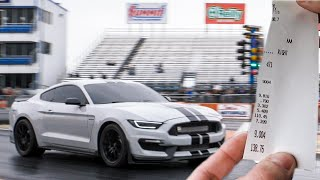 Twin Turbo GT350 chases down a Demon! Lucifer's FIRST time at the track